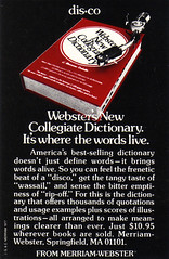 Vintage Ad #1,324: The Dictionary Goes to the Disco
