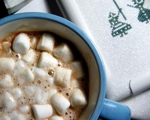 hot cocoa...