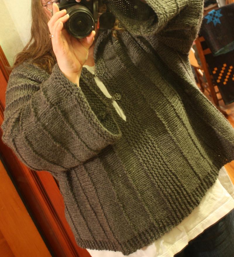 Kimono Sweater 3d
