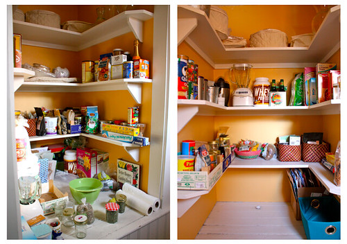Pantry: Before and After