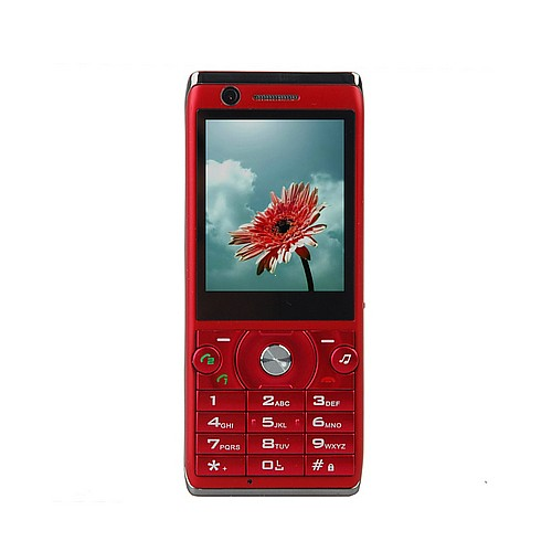 BaoXing F6-Quadband,dual sim dual standby dual camera,multilanguage,FM Red Color