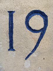 No 19 - blue paint