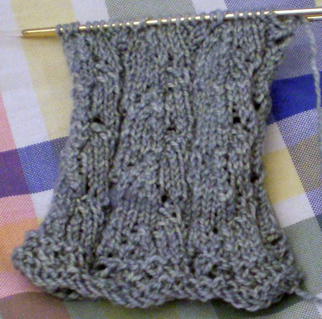 Lupine socks