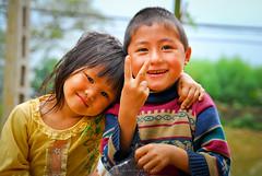 Children of Sapa • Vietnam (onefinesunday) Tags: people children nikon southeastasia faces vietnam d200 2009 sapa