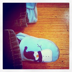 9/365 - Tiny Winter Shoes