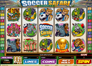 Soccer Safari slot game online review