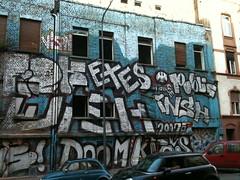 Mysterises Haus 01 (klyonrad) Tags: house streetart graffiti frankfurt ffm