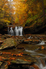 Wyandot Falls Portrait (VermontDreams) Tags: autumn fall waterfall pennsylvania falls pa waterfalls rickettsglen kitchencreek rickettsglenstatepark luzernecounty october2010 wnywaterfallers rpsg wyandotfalls