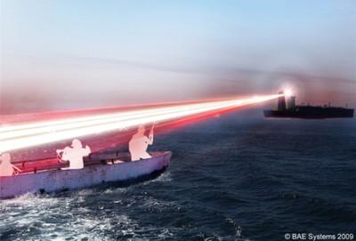 Láser contra piratas (BAE System)