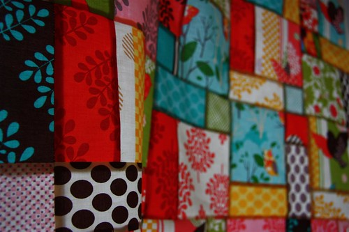 Momo 2 charm packs quilt