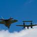 F-22 Raptor and P-38 Heritage Flight