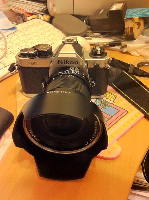 Nikon FM2+ZF 21mm 2.8+柯達E100G