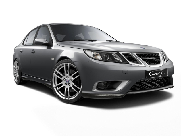 Hirsch Performance products for Saab