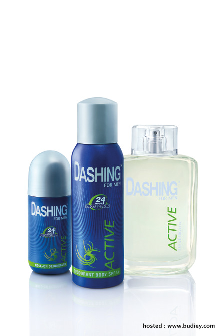 Dashing Active Eau De Toilette, Body Spray & Roll-On Deodorant