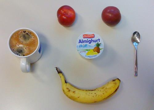 Almighurt, Pflaumen & Banane