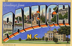 Greetings from Raleigh, North Carolina - Large Letter Postcard (Shook Photos) Tags: linen postcard northcarolina raleigh postcards greetings raleighnorthcarolina linenpostcard bigletter largeletter largeletterpostcard linenpostcards largeletterpostcards bigletterpostcard bigletterpostcards