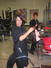 Texture Week (Hairacademypm) Tags: school smile hair clips brush idaho heat products rollers comb 2010 rexburg blowdry cosmetology daymaker paulmitchell textureweek futureprofessionals thehairacademy