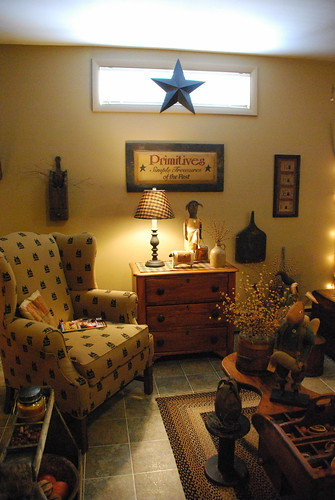 Primitive Living Room