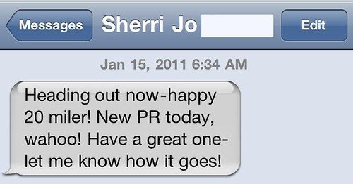 Text Message From Sherri
