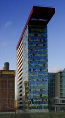Colorium im Medienhafen Dsseldorf (- Carsten -) Tags: building allen william nrw dsseldorf rhine rhein gebude alsop medienhafen