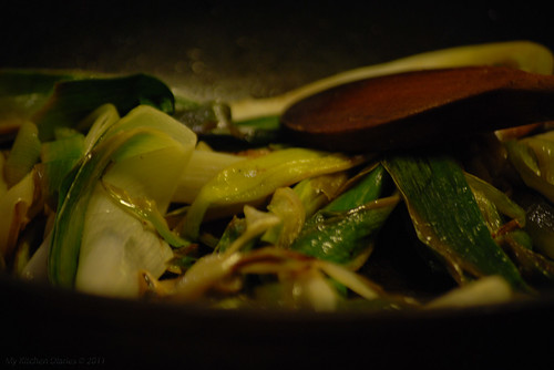 Leeks, butter and lemon [1]