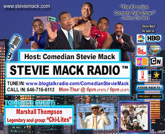 STEVIE MACK RADIO™ - Marshall Thompson leader of the Chi-Lites - 01-19-2011