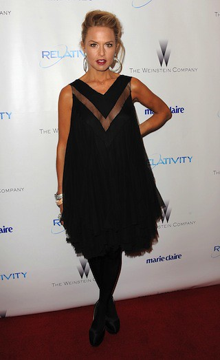 Actress Rachel Zoe arrives at The Weinstein Company And Relativity Media's 2011 Golden Globes After Party at Bar 210 at The Beverly Hilton hotel on January 16, 2011 in Beverly Hills, California.