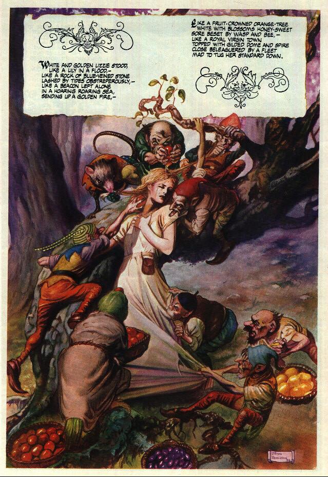 The Goblin Market (Novela grafica) 5365253170_71fd407de3_b