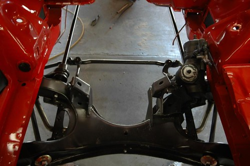 front suspension in