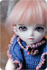 Violet (kerrimaknolli) Tags: boy doll handmade violet jewellery elf tiny bjd fairyland fee ltf  chiwoo   littlefe