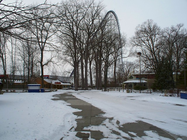 Cedar Point - Off-Season Frontier Trail