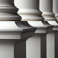 Town Hall Pillars (20/20hynesight) Tags: shadow architecture dof columns tasmania pillars launceston lightandshade