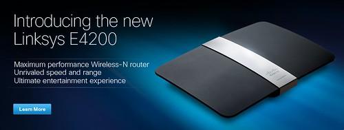 Linksys E4200: routeris lietuviškiems tinklo greičiams?