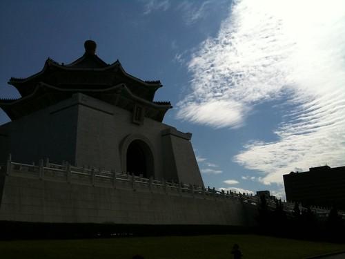 中正紀念堂與有趣的卷雲