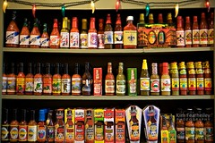 Things get HOT in New Orleans (KimFearheiley) Tags: hot neworleans hotsauce cajun