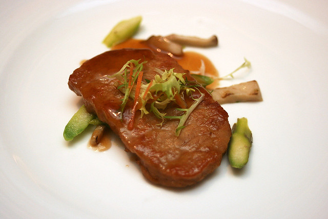 Baked Chinese Angelica Marinated Kurobuta Pork