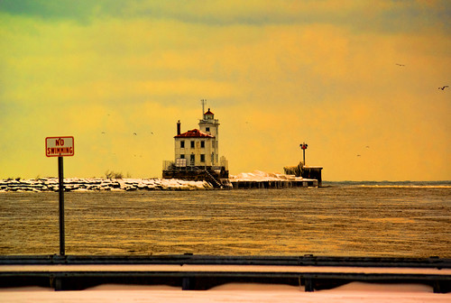 Fairport harbor Lighthouse by Jeff®