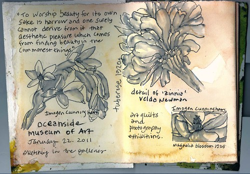 museum journal page 1: Oceanside Museum of Art, Oceanside CA