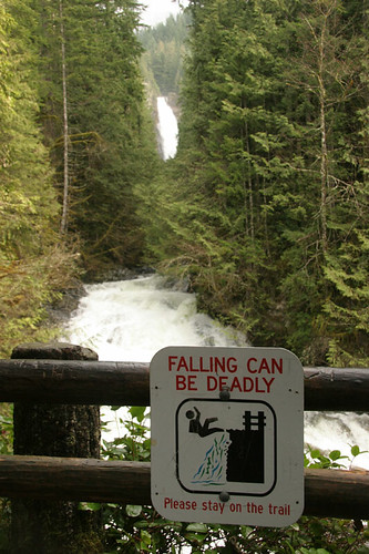 Middle falls - Wallace Falls trail
