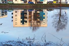 Peegeldus tiigil. (Jaan Keinaste) Tags: reflection estonia pentax maja eesti k7 harjumaa majad peegeldus vanagram raevald jrialevik