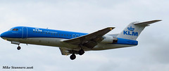 PH-KZL ,LHR 20.5.16 (Mike stanners) Tags: fokker klc klm kl lhr