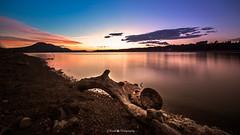 Calm in the evening I (Juan Facal fotografa) Tags: cubillasembalse largaexposicin cubillas larga exposicion embalse