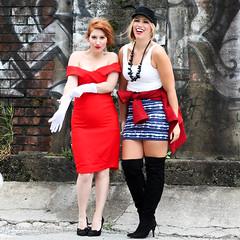 Pretty Woman Halloween Costume Before & After Julia Roberts BFF Costumes 90s Movie (jackiegiardina) Tags: 90s costume costumes halloween prettywoman