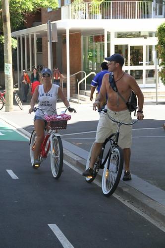 bikes on bourke street