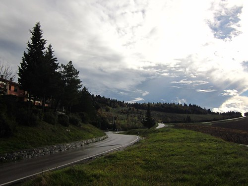 Toscana roads