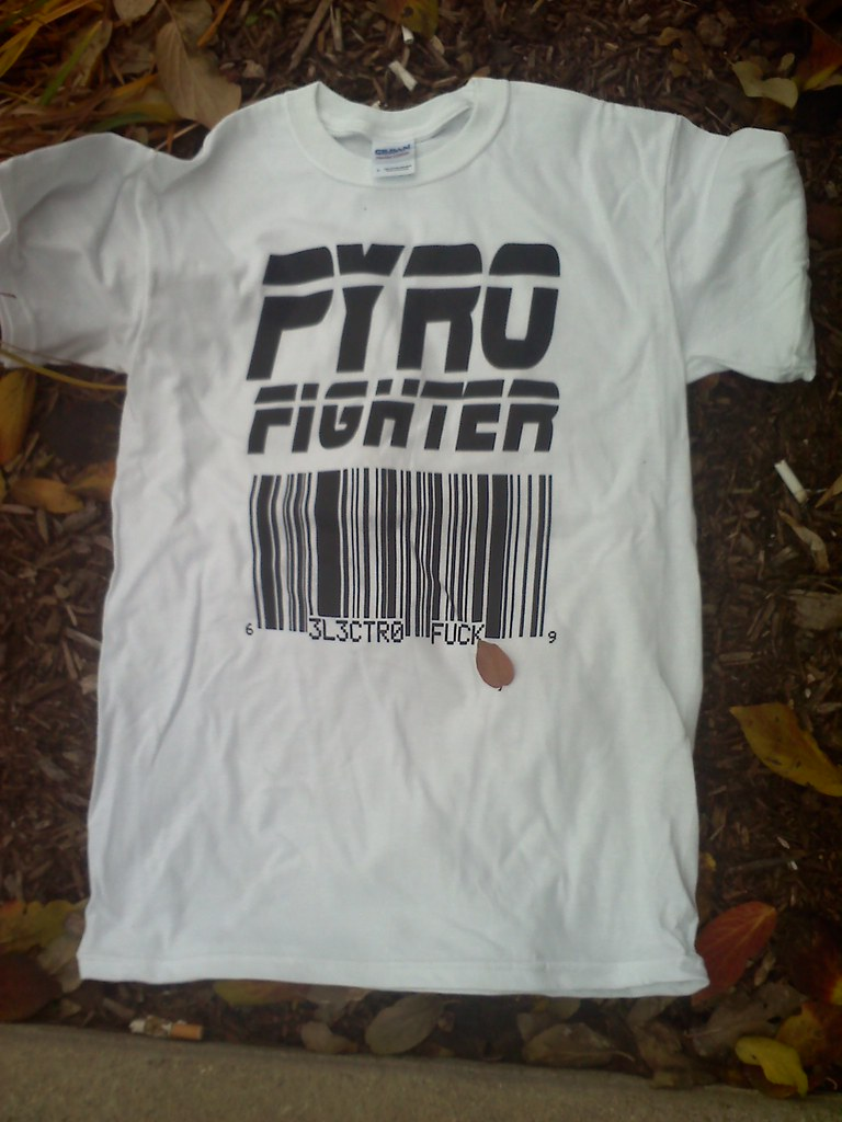 cheap band merchandise for Pyro Fighter