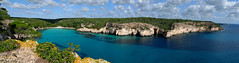 Panorama of Cala Macarella - Menorca (B℮n) Tags: spain topf50 paradise paradiselost diving lagoon unesco oxygen snorkling biospherereserve breeding topless scubadiving coastline nudity shag menorca shags mediterraneansea clearwater sandybeach minorca deepblue balearicislands bluesea crystalclearwater balearics paradisebeach rockycoastline naturists palebluesky deepbluesea 50faves santagaldana reservadelabiosfera feedyoursoul calamacarella calamacarelleta mediterraneanlandscape naturalenvironments rockyoutcrops turquiosewater crystalbluesea rurallocation naturistbeaches untouchedbeaches turquoisebluewater semicircularbay geomenorca nestingontherocks jumpoutofthewater smallcaves serenebluewater tranquilunspoiltplace shelteredcoves crystalclearblue unspoiledshores wonderfulclimate paradiseblues aromaticsmellingpines theunspoiltisland