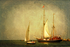 Sailer (Arunas S) Tags: sea sunlight reflection texture water antique calm baltic sail tallship races 1939 tranquillity sailer sailingvessel arunas sonydscr1 seutedeern kartpostal seutedeernii tatot artistictreasurechest magicunicornverybest magicunicornmasterpiece coppercloudsilvernsun