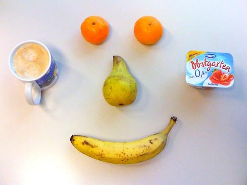 Obstgarten, Clementinen, Birne & Banane