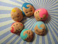 Mini Kewpie Heads! 3